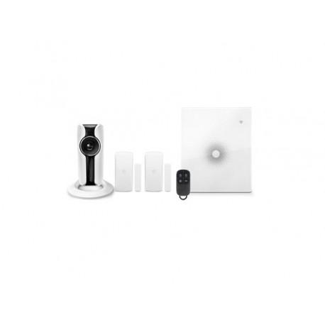 Kit alarme sans fil avec caméra HD avec liaison GSM, Wifi