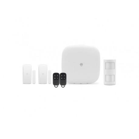 Kit alarme sans fil avec liaison GSM, Wifi