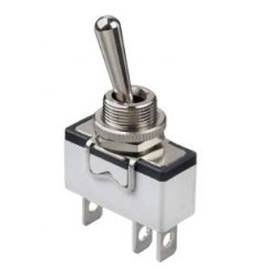 Interrupteur à levier unipolaire APEM 12.2mm