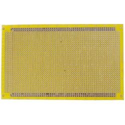 Plaque pastillée bandes et points 100x160mm étamée