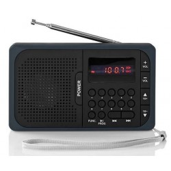 Radio FM PLL rechargeable 3.6W