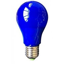 Ampoule E27 Led 10W bleu