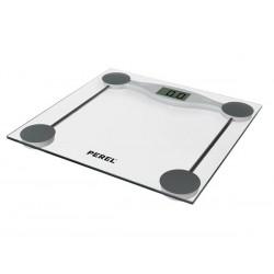 Pèse personne numérique 180kg 100g, en verre trempé