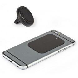 Support smartphone magnétique pour grille de ventilation