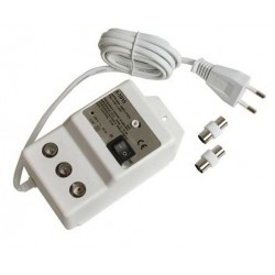 Amplificateur d'antenne 20dB 1 entrée / 4 sorties UHF