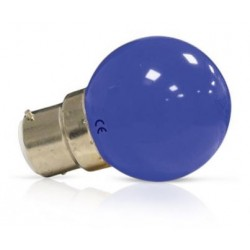Ampoule Led 1W bleu B22