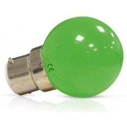 Ampoule Led 1W vert B22
