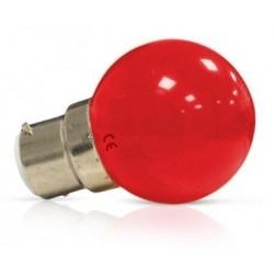 Ampoule Led 1W rouge B22