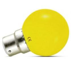 Ampoule Led 1W jaune B22