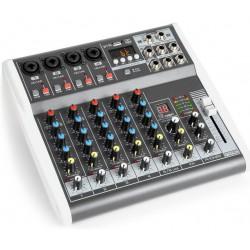 Table de mixage 6 canaux avec equaliseur et DSP