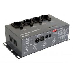 Bloc de puissance DMX 4 canaux 4x5A