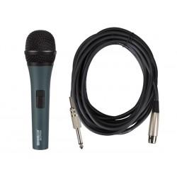 Microphone dynamique avec mallette