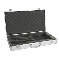 Coffret aluminium pour microphone