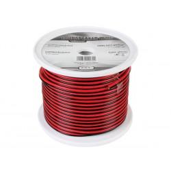 Câble haut-parleur, alimentation 2 x 1.5 mm² rouge/noir