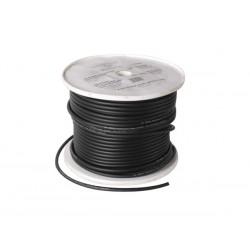 Câble haut-parleur OFC, alimentation 2 x 1.5 mm² noir